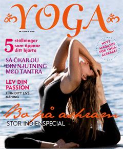 Den svenska yoga tidningen om YOGA om