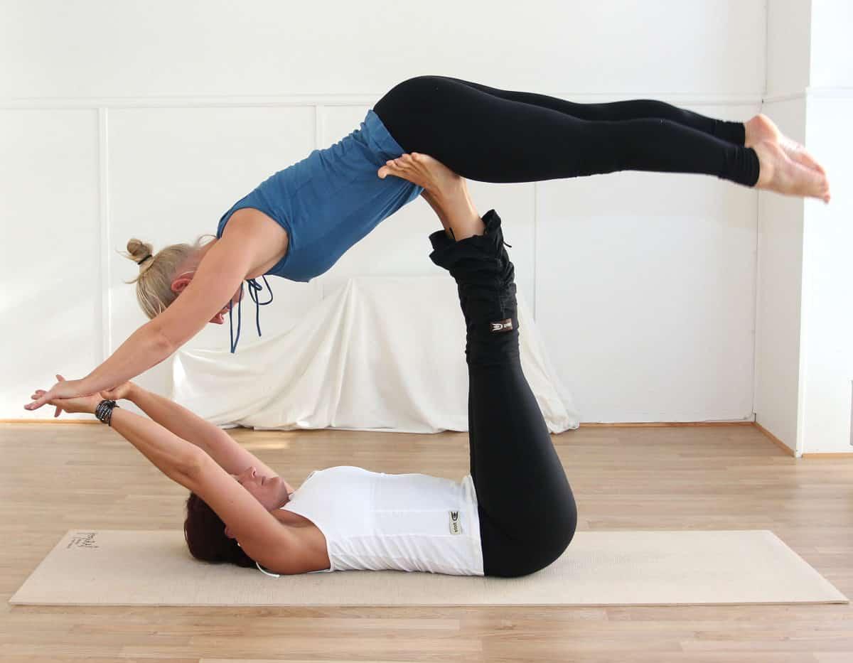 Yogan betyder mycket för Lotta