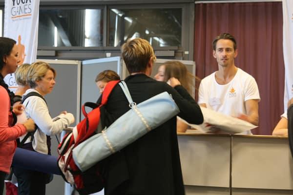 Andreas Karlsson är arrangör bakom Yoga Games
