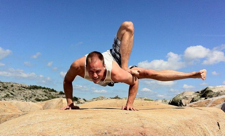 Yogaläraren och läkaren Erik Myrberg