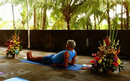 Pranayama med Ananda Leone på Bali Spirit Festival