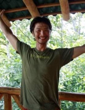 Simon Park med Prana flow på Bali Spirit Festival