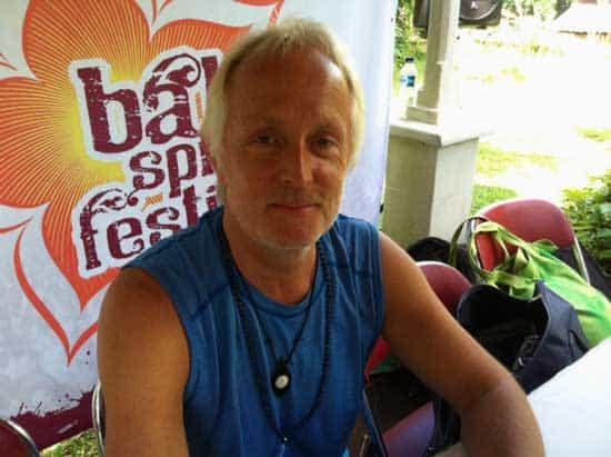 Simon Low Bali Spirit Yoga Festival