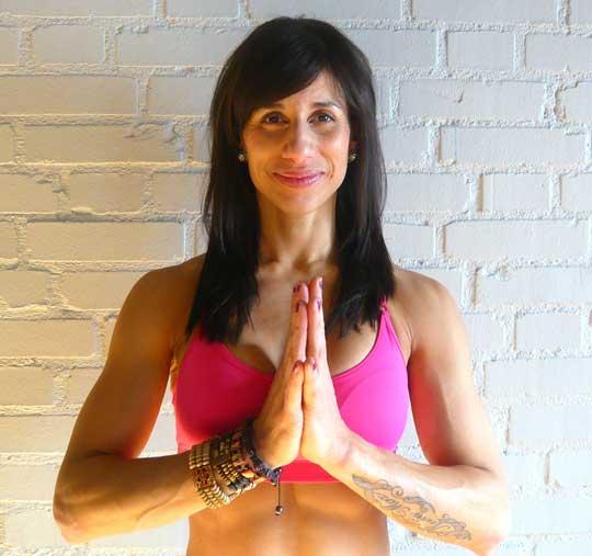 Världsrekord i yoga med Elaine