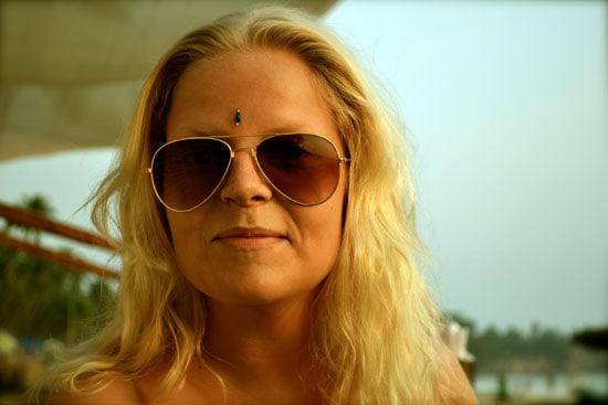 Emmelie vår yogabloggare i Indien