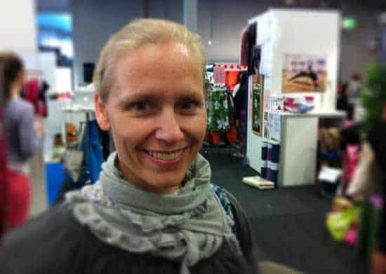 Yogaläraren Lotta Olsson från Ramlösa