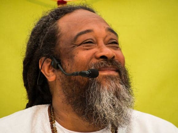 Mooji. Foto: Paul Stephens, Retreat i Portugal 2013