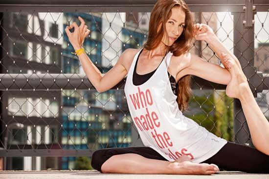 Reebok lanserar yogakollektion tillsammans med yogaläraren Tara Styles.