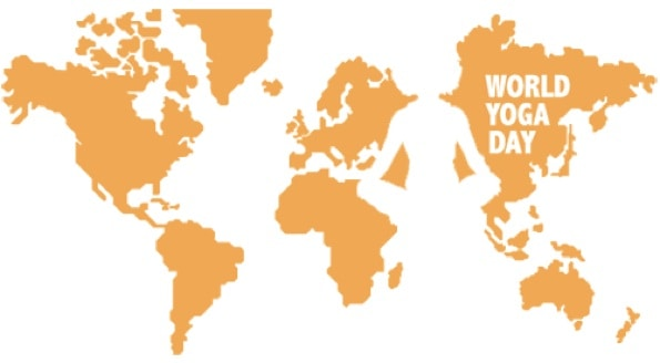 World Yoga Day - yoga för välgörenhet runt om i världen