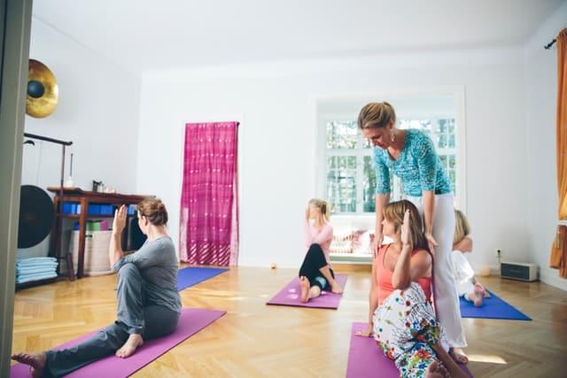 Yoga och minska vardagsstressen Elena von Dönhoff