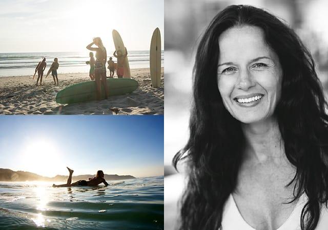 Yoga och surfa med Malin Berghagen på Costa Rica