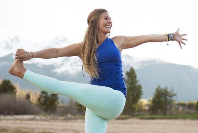 Rachel Bråthen aka Yoga Girl. Foto: Alea Warner