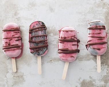 Recept på raw glass: Rosy Rasberries