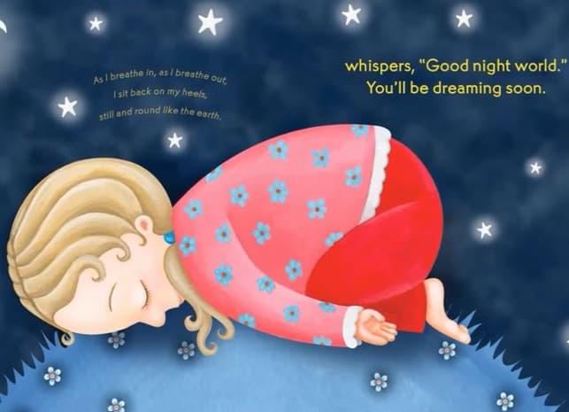 Godnattyoga - en saga för barn