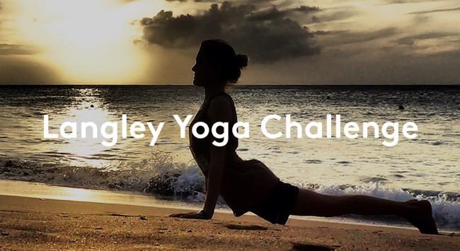 Vinn presentkort på yogaresa med Langley Travel