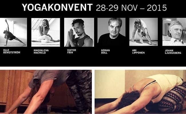 Vinnarna till biljetterna av Yogakonventet
