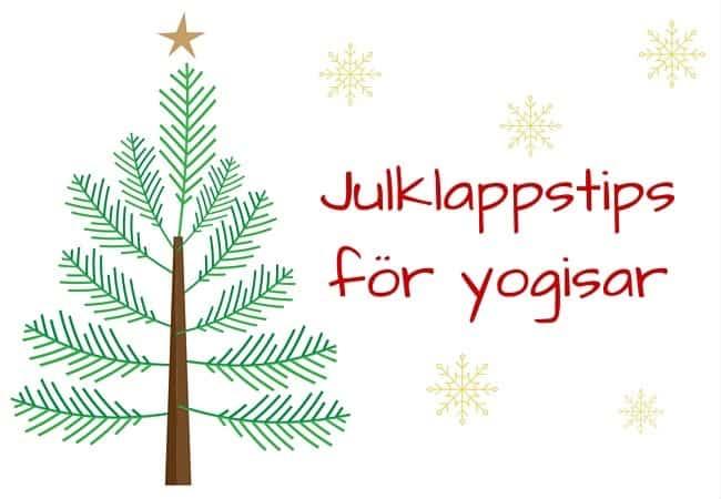 Julklappstips för yogisar