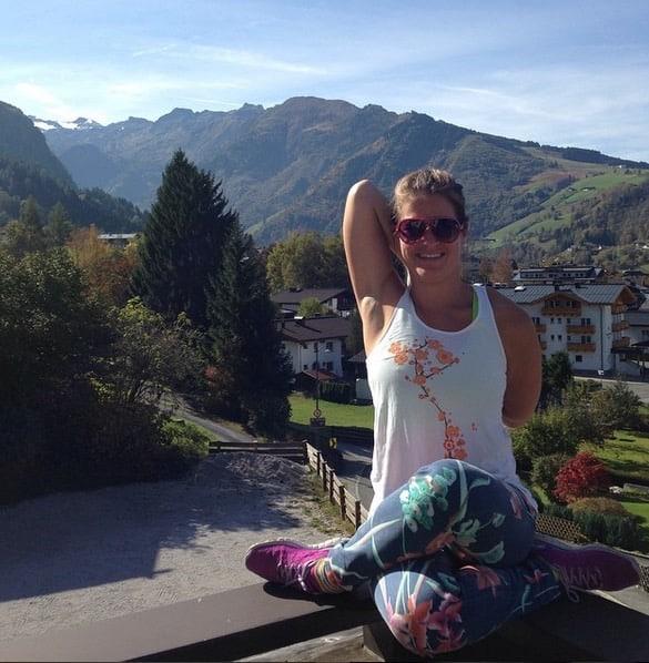 Yogaläraren Isabel Holmquist