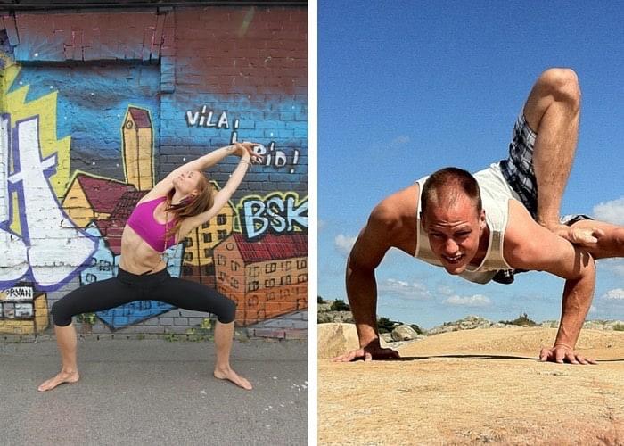 Yoga workshop med Caroline och Erik