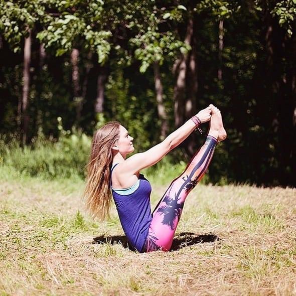 Veckans yogalärare Beata Alness