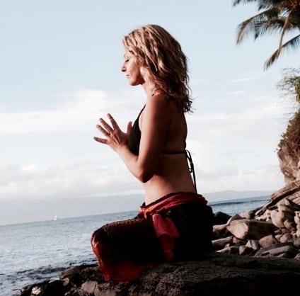 Veckans yogalärare Camilla Bergström