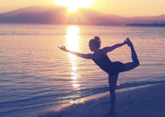 Lisa jobbade som yogalärare på Bali i flera år