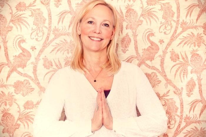 Veckans yogalärare Anette Hansson