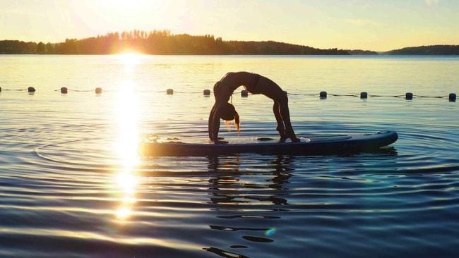 """Veckans yogalärare är Veronica """"Vevve"""" Jäderlund"""""""