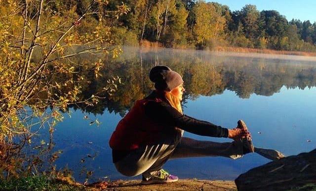 Veckans yogalärare Elin Grant