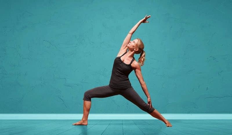 Yogaläraren Esther Eckhart