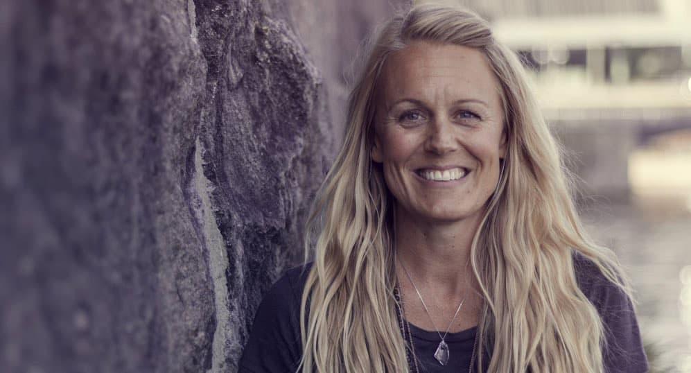 Veckans yogalärare Elin Grant. Fotograf: Emma Ekström