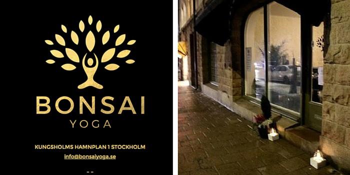 Yogastudio på Kungsholmen säljes
