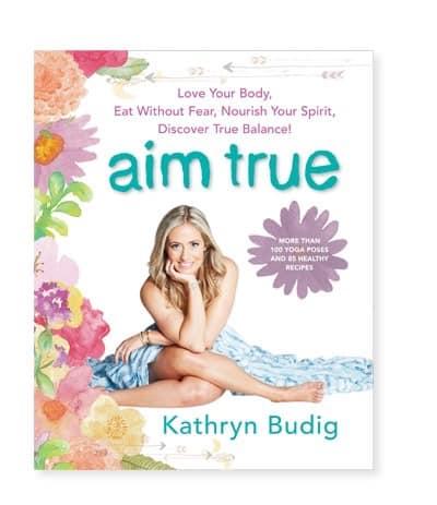 Boken Aim True av Kathryn Budig