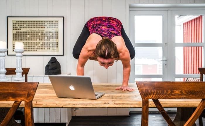 Yogaläraren Laila Svensson