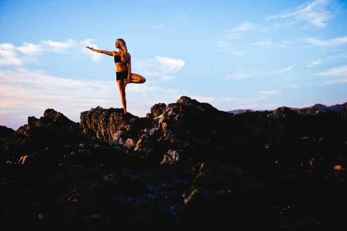 Yogaresa till Biarritz. Foto: Yogiakademin