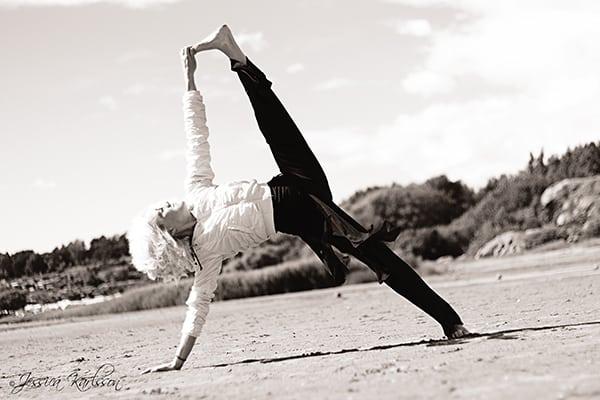 Yogaläraren Maria Cerboni