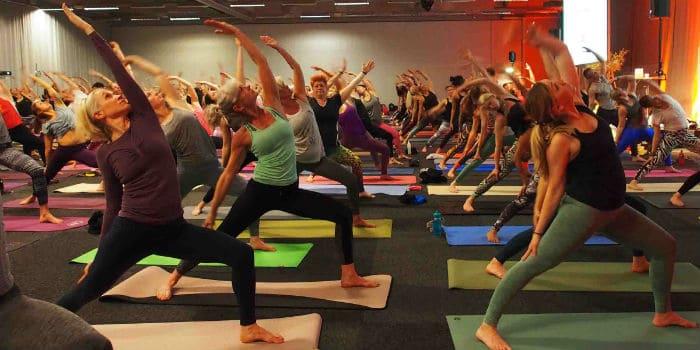Yogomove – höstens stora yoga- och träningskonvent. Foto: Veronica Jäderlund