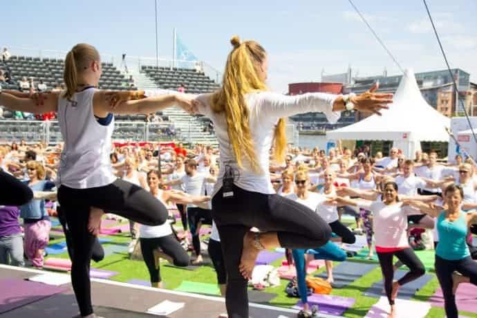 Nytt samarbete som främjar yogalärare