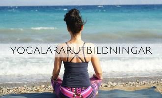 Yogalärarutbildningar