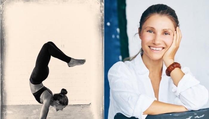 Yogaläraren Iren Rinmad har get ut boken Tigerlily- tidig vårblomning.