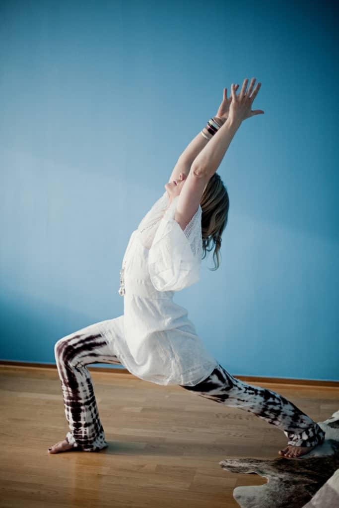 Prana Flow Yoga är den amerikanska yogaläraren Shiva Reas yogaform