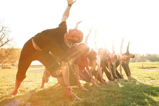 Yoga och dansfestival på Ängsbacka i april