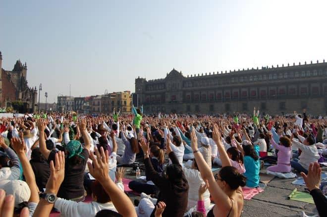 Världsrekord i yoga, Mexico