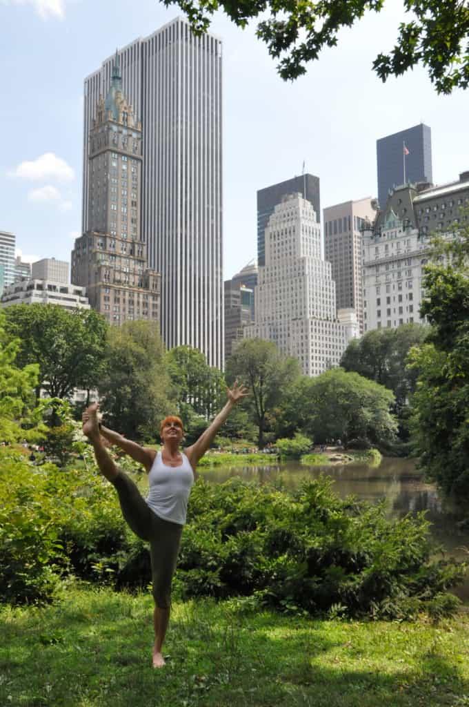 Yoga i New York