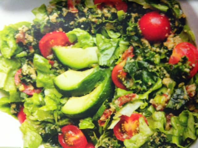 raw food sallad recept