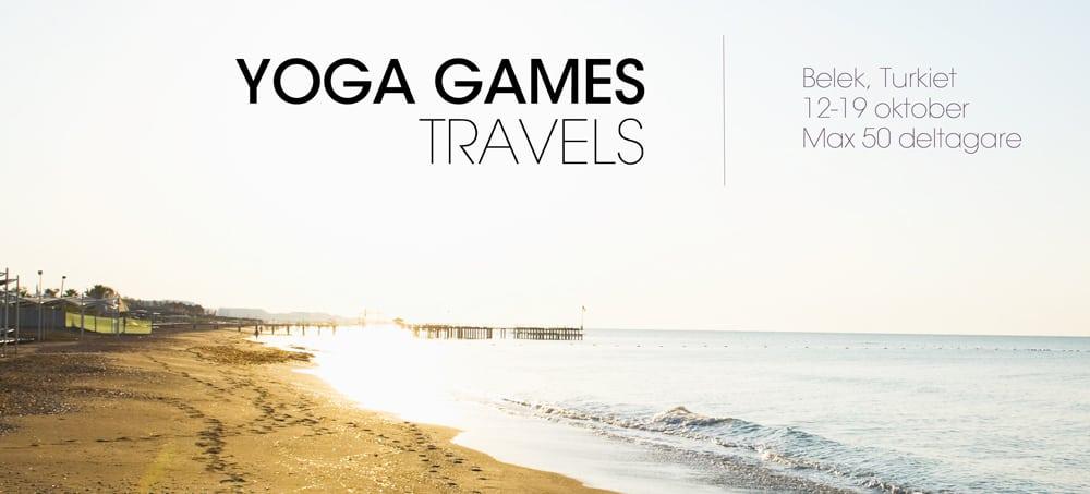 Yogaresa till Turkiet med Yoga Games