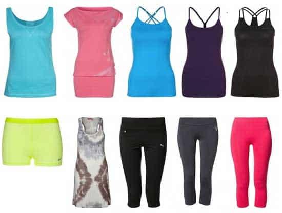 Yogakläder - bli snyggast i vår tävla och vinn presentkort på zalando.se