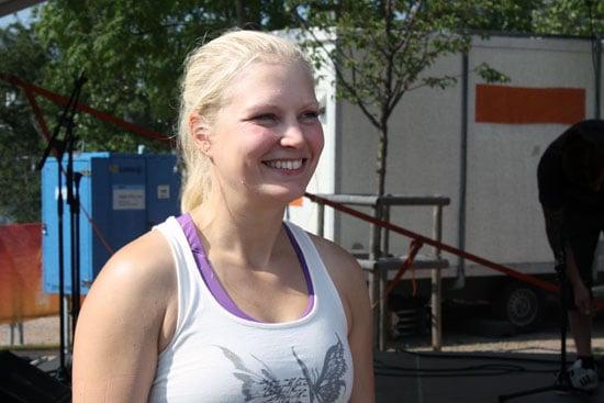 Yogaläraren Milla Floryd.