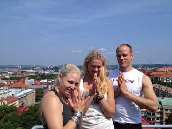 Gratis Gratis yoga på Storan i Göteborg.