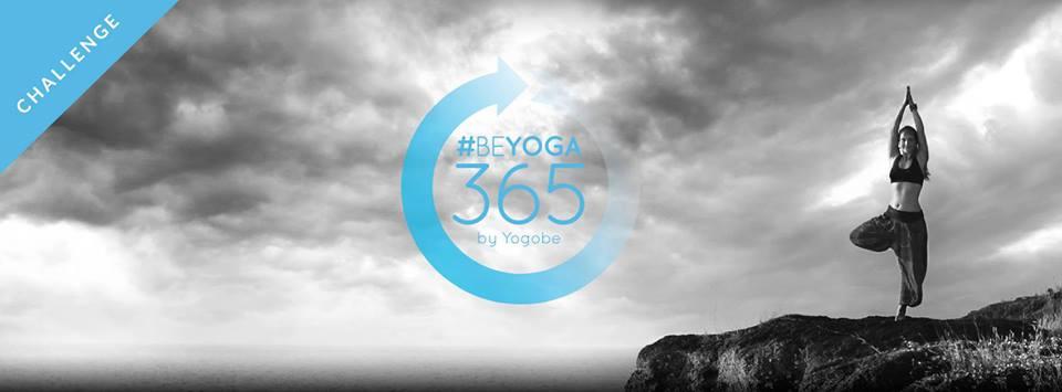 365-dagars inspirerande yoga utmaning med Yogobe